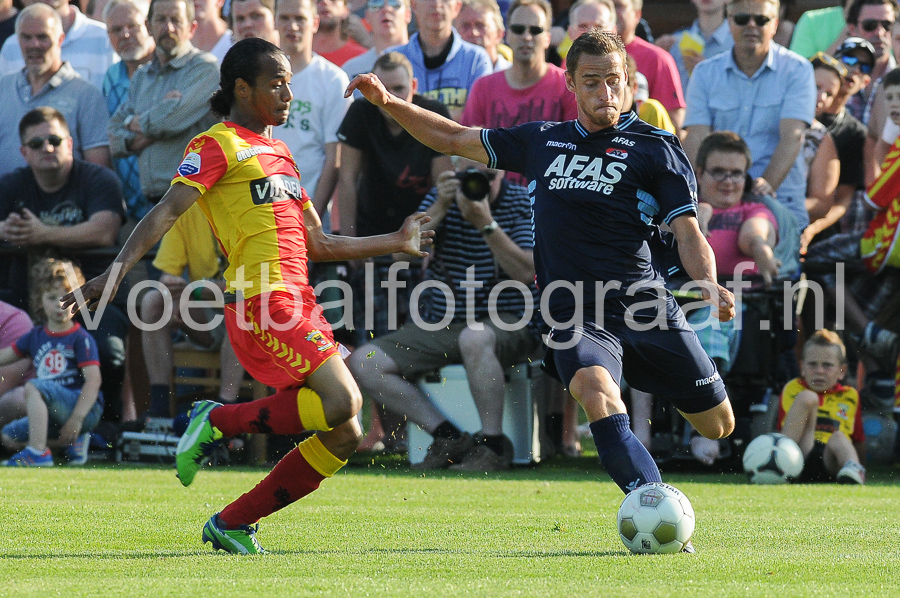 09-07-2013 Oefenwedstrijd Go Ahead Eagles - AZ Uitslag 3-0